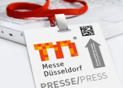 Photo: Messe Düsseldorf press card